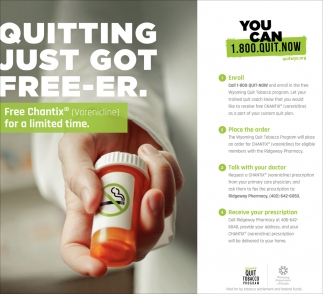 Quitting Just Got Free-re