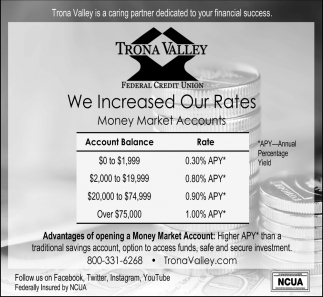 We Increased Our Rates