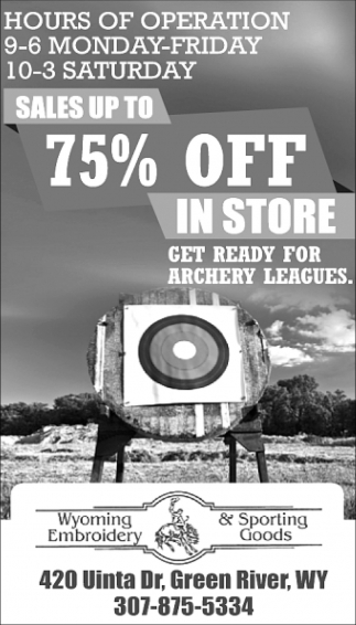 Sales Up to 75% OFF In Store