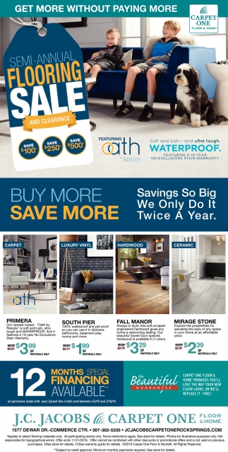 Semi-Annual Flooring Sale