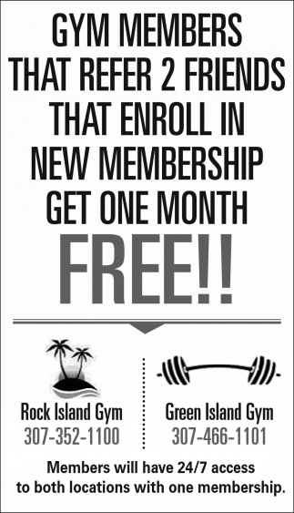 Members Will Have 24/7 Access