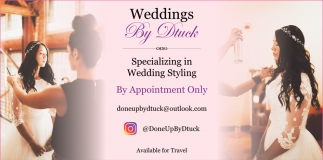 Specializing in Wedding Styling