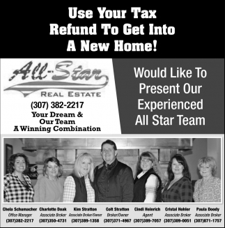 Use Your Tax Refund to Get Into a New Home!