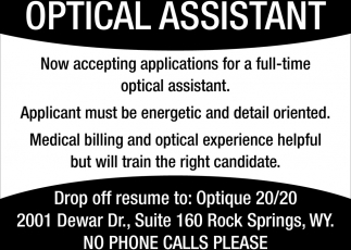 Optical Assistant