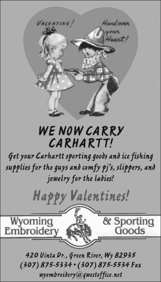 We Now Carry Carhartt