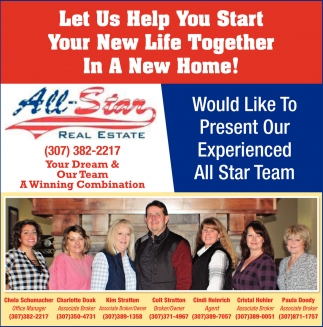 Let Us Help Start Your New Life Together In a New Home!