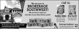 We Are Now at Brokerage Southwest!