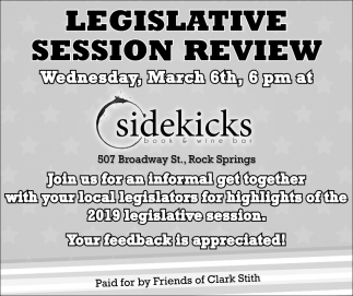 Legislative Session Review