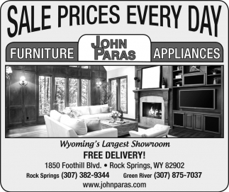 Sale Prices Every Day