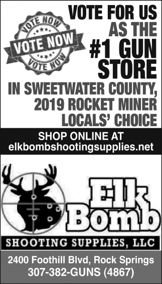 Vote for Us as the #1 Gun Store in Sweetwater County