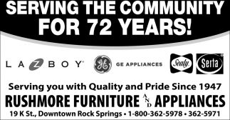 Serving the Community for 72 Years