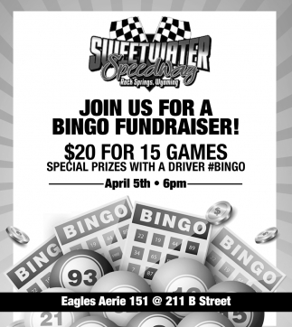 Join Us for a Bingo Fundraiser