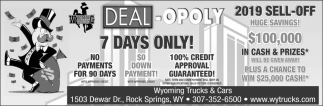 Deal - Opoly 7 Days Only