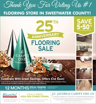 #1 Flooring Store in Sweetwater County!