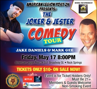The Joker & Jester Comedy Tour