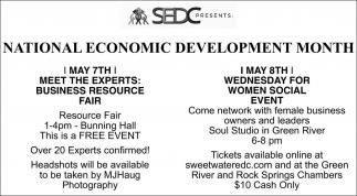 National Economic Development Month