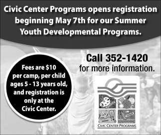 Civic Center Programs