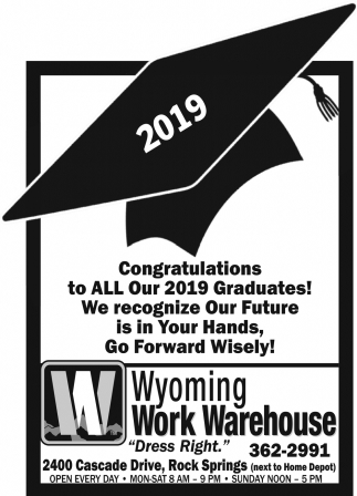 Congratulation to All Our 2019 Graduates!