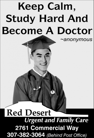 Keep Calm, Study Hard and Become a Doctor