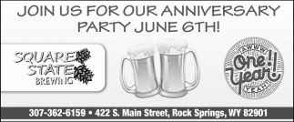Join Us for Our Anniversary