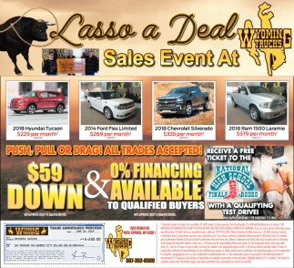 Lasso a Deal Sales Event