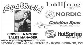 Criscilla Moore Sales Manager