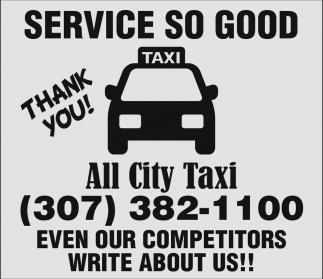 Service so Good