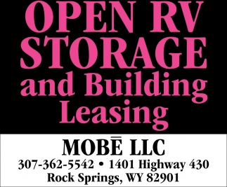 Open RV Storage and Building Leasing
