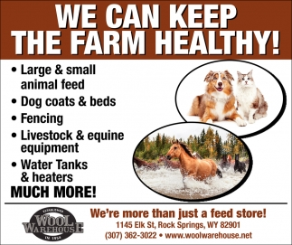 We Hace All Your Summer Animal Supplies