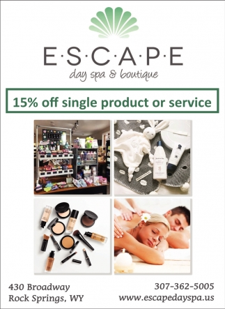 15% OFF Single Product or Service