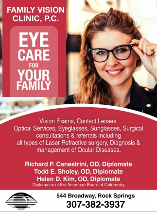 Eye Care for Your Family