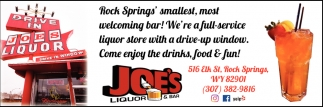 Rock Springs' Smallest Bar
