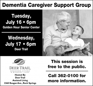 Demetia Caregiver Support Group