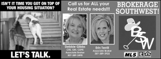 Call us for All your Real Estate Needs
