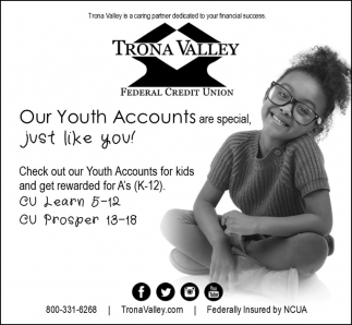 Our Youth Accounts are Special
