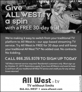 Give All West