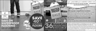 Save Up to 40% On Select Waterproof Floors