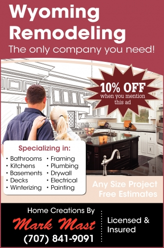 The Only Company You Need Wyoming Remodeling