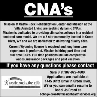 CNA's