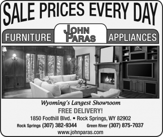 Sales Prices Every Day