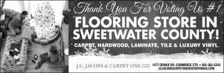 #1 Flooring Store in Sweetwater County