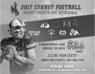 2017 Cowboy Football