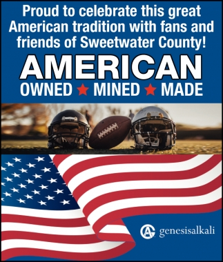 Proud to Celebrate this Great American Tradition with Fans and Friends of Sweetwater County!