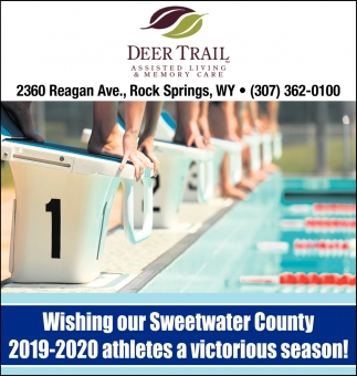 Wishing Our Sweetwater County 2019-2020 Athletes a Victorious Season!