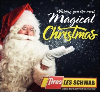 Les Schwab Christmas Eve 2021 Magical Christmas Tires Les Schawb