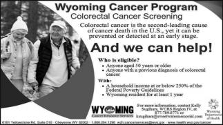 Wyoming Cancer Program