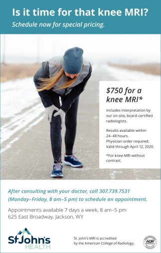 Is it Time for that Knee MRI?