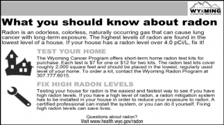 What You Should Know About Radon