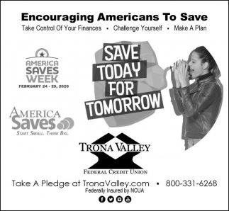 Save Today for Tomorrow