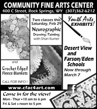 Youth Arts Exhibits!